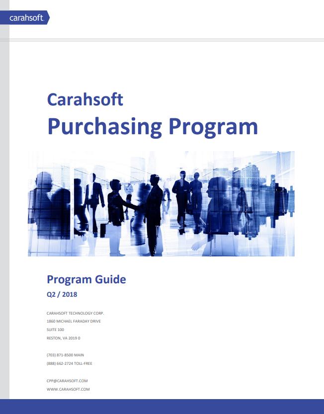 www.carahsoft.com/CPP