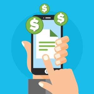 Managing spending with smartphone interfaces