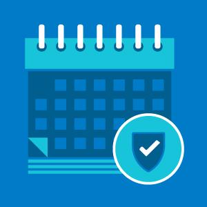 Cybersecurity calendar
