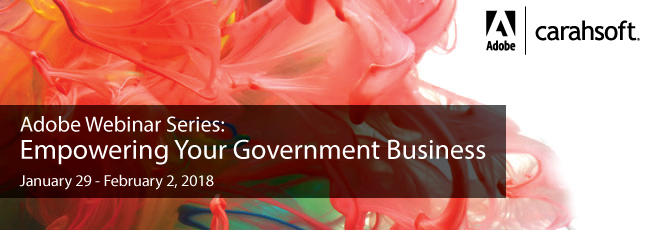 Adobe Empowering Your Government Business banner