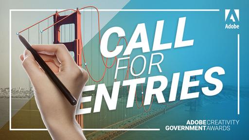 Adobe Creativity Government Awards banner