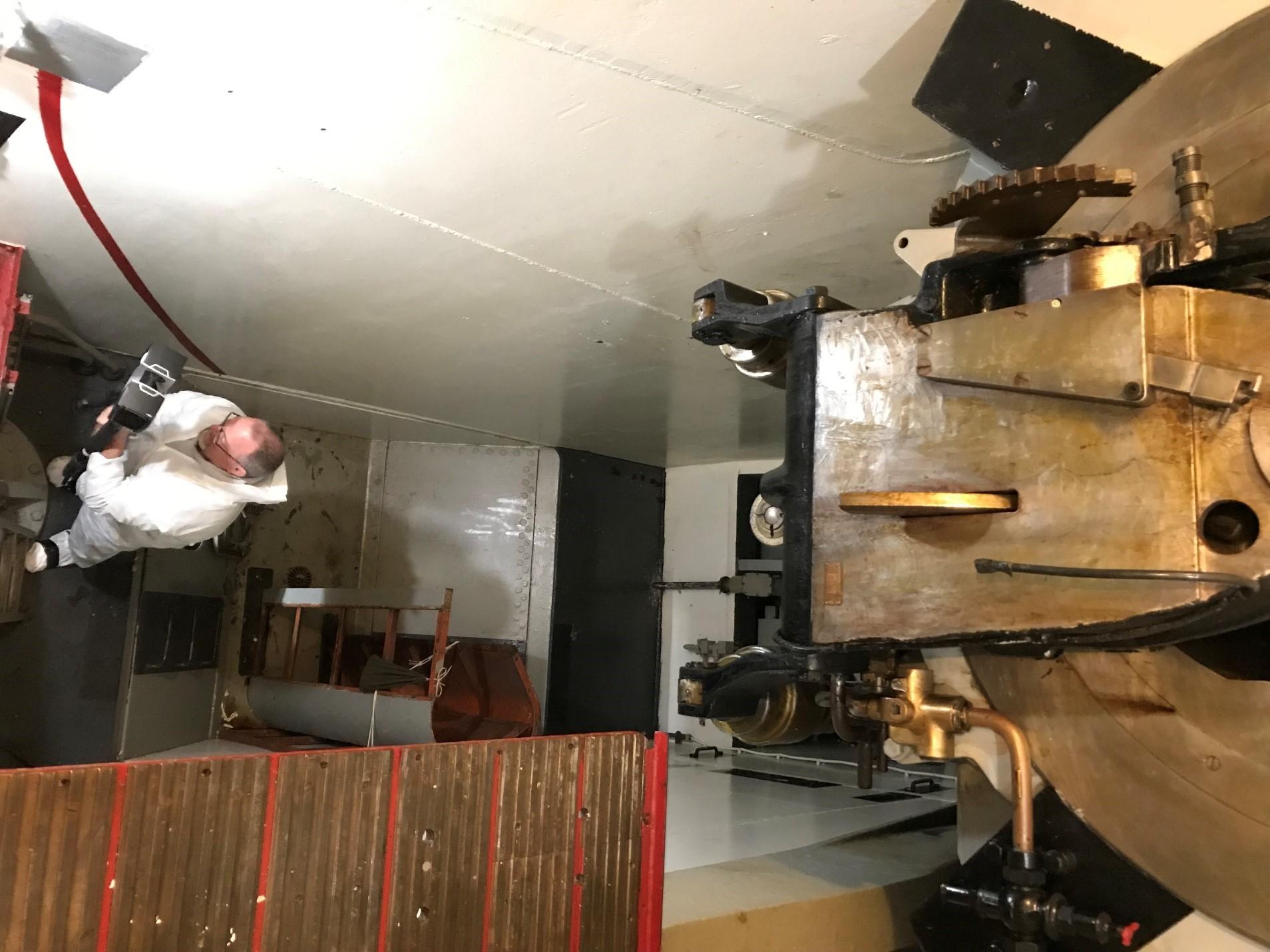 scanning gun pit