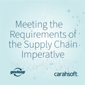IIG GovLoop Guide Supply Chain Blog Image