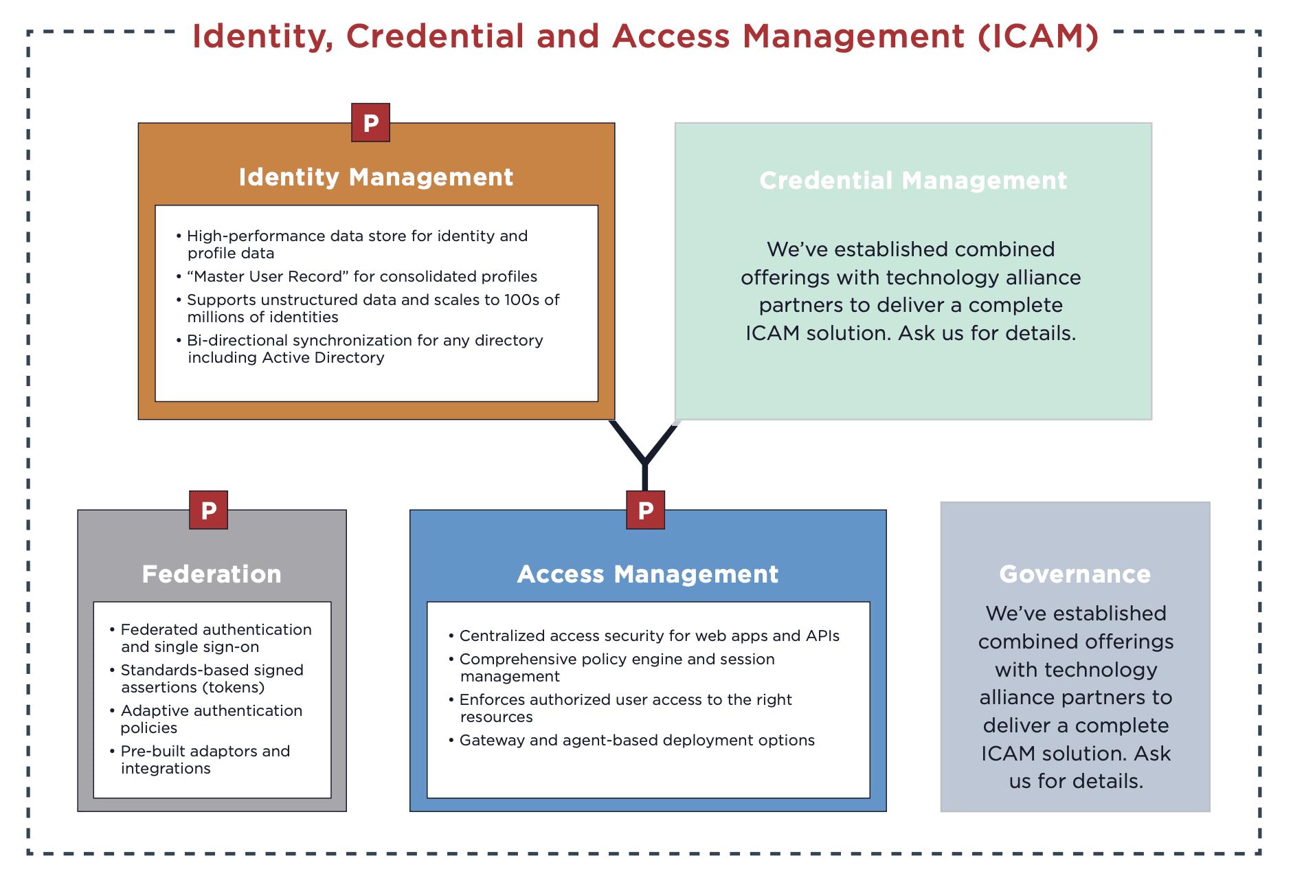 Ping Identity ICAM Graphic Zero Trust Blog 2021